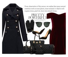 """Twinkledeals 1"" by nejra-l ❤ liked on Polyvore featuring Nicholas, Christian Louboutin, Spitfire, Mulberry, dress and winterfashion"