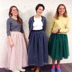Фатиновые юбки #flappersworkshop
