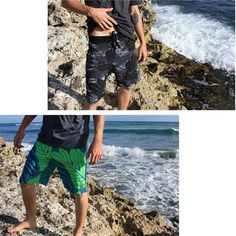 @sigzanedesigns for #Hurley Phantom #Ululoa boardshorts in Black and Maritime Blue