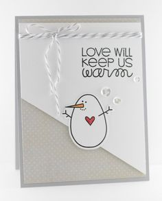 Card by SPARKS DT Lynn Mangan PS stamp set: Warm Hearts; PS dies: Warm Hearts Icons