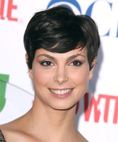 Morena Baccarin, hairstyle, views, front, original, morena, baccarin, celebrity