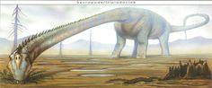 Barosaurus --- Site officiel : http://www.dinosauria.ca/