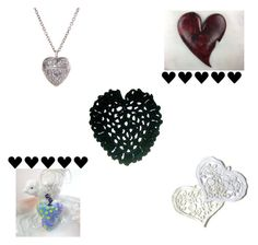 """""""Heart gifts"""" by keepsakedesignbycmm ❤ liked on Polyvore featuring jewelry, accesories and decor"""