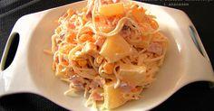 Sałatki  - Sałatka z selerem i ananasem - PRZEPIS