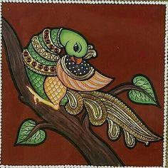 Mysore Painting, Worli Painting, Kerala Mural Painting, Art Painting Gallery, Peacock Painting, Tanjore Painting, Fabric Painting, Madhubani Paintings Peacock, Kalamkari Painting