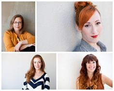 Not So Corporate Headshots for the ladies. Portraits To The People Blog