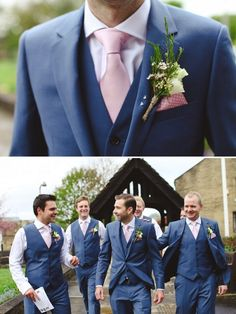 These spring colors are perfect for your groomsmen