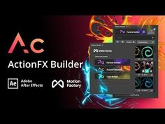 ActionFX Builder | Free After Effects 2D Animation Effects - YouTube