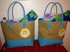 End of the year Teacher Beach Bags