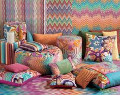 Coussins missoni hOme