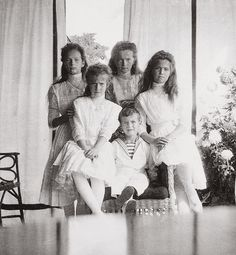 25 Photographs of the Five Imperial Children of Russia {10/25}
