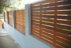 Hardwood Timber Deck Screen