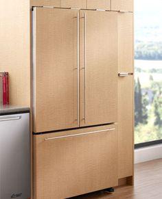 built in Dacor fridge...made in USA