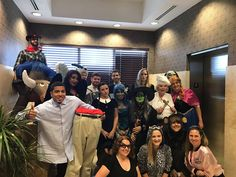 CBIZ South Florida has some creative costumes for their costume contest today!