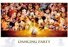 Gifts Online Today - sell Japan jigsaw puzzle, classic and out of print jigsaw puzzles to worldwide. Disney All Characters Collection - Japanese jigsaw puzzle from Japan Disney Magic, Disney Mickey, Disney Pixar, Mickey Mouse, Disney Characters, Walt Disney, Disney Jigsaw Puzzles, Disney Stained Glass, Pattern Pictures