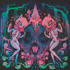 Goth-Inspired Paintings Blend Surrealist Dreamscapes with Nature | City of the Seekers | The Creators Project