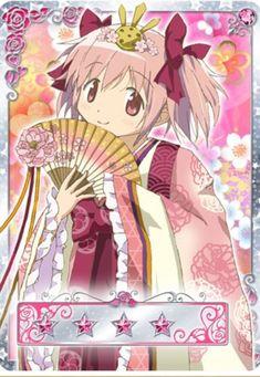 Madoka - Madoka Magica Hinamatsuri (Doll Festival) - Madoka Magica Mobage Cards