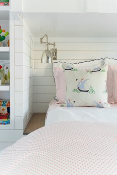 Coastal Living 2015 Showhouse: Bunkrooms Before & After - Peppermint Bliss