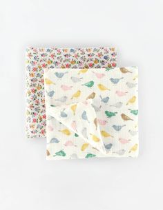 2 Pack Soft Muslin Blankets 78128 Newborn at Boden