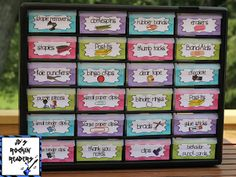 Is one of your goals to get more organized as a teacher? Then try this storage container! Everything you need to set up one for your classroom is included in the post.