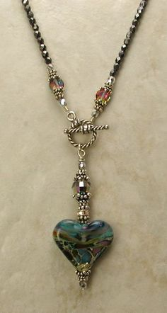 awesome DIY Bijoux - Pendant hanging from toggle clasp. Very nice - Jewelry Amazing