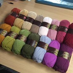 More Stylecraft Special Autumn loveliness on my desk this morning. See yesterday's post for prices, shipping and ordering details
