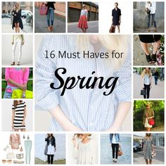 Sweet Parrish Place: 16 Spring Fashion Must Haves
