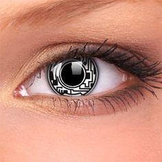 Cyborg Crazy Contact Lenses (Pair)