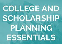 Getting organized is the first step to helping your student get accepted to the college of their dreams and earn the scholarships to pay for it. This essential step will ensure that your child's college or scholarship applications are complete – that nothing is forgotten or missed. The best way to do this is with …