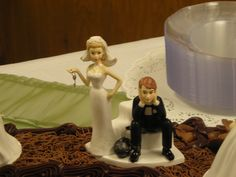 cute cake topper from Kate's wedding cake