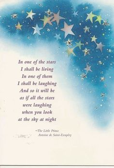 From: The Little Prince