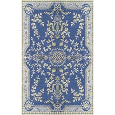 Mad Mats - Oriental Garland - Blue. White, Yellow