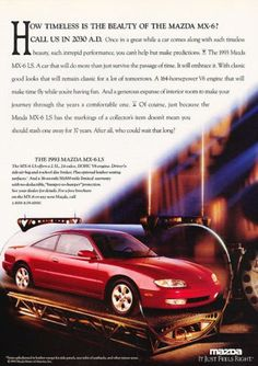 1993 mazda mx-6 ls