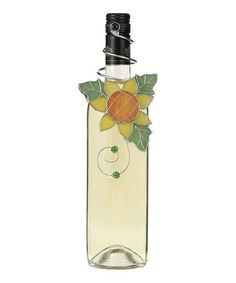Take a look at this Sunflower Wine Bottle Ornament by GANZ on #zulily today!
