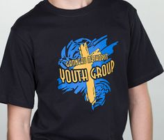 Church T Shirt Design Ideas religious Youthgroup T Shirt Design With Cross Add The Name Of Your Church