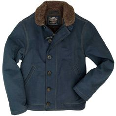 Warm, rugged and stylish, the Navy Deck Jacket is made with a unique Bedford Cord shell. Order this USN jacket from Cockpit USA today. Navy Jacket, Sherpa Lined, Mens Clothing Styles, American Apparel, Work Wear, Men Casual, Men's Fashion, Fashion Ideas, Winter Fashion
