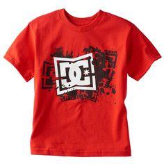3c1093a5edb0d DC Shirt Boys Medium NEW NWT Pinch Tee Red DC Shoe Company Top T-Shirt