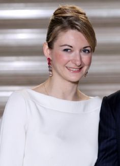 R4R Royal Bios: (Luxembourg) Countess Stéphanie de Lannoy  -Stéphanie Marie Claudine Christine de Lannoy  -born February 18, 1984  -fiancée of Hereditary Grand Duke Guillaume  -to be married on October 20, 2012  -will become Hereditary Grand Duchess of Luxembourg upon marriage to Guillaume    -future Grand Duchess of Luxembourg