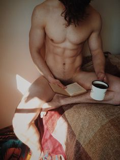 Coffee with a book -- yes!