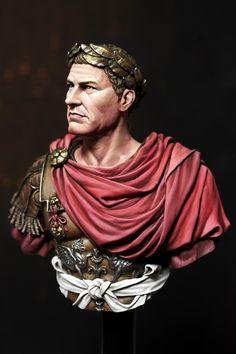 Historical Art, Historical Clothing, Iulius Caesar, Ancient Roman Clothing, Gaius Julius Caesar, Roman Toga, Roman Armor, Roman Soldiers, Roman Empire