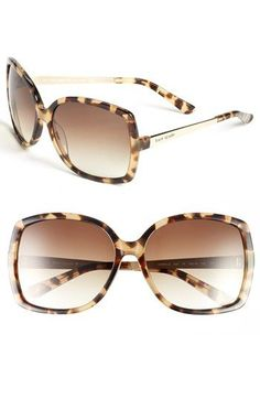 kate spade new york 'darryl' 59mm sunglasses available at #Nordstrom