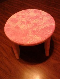 Wooden Stools hand made by KathysWeb on Etsy, $20.00