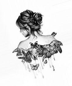 бабочки в животе рисунок - Поиск в Google