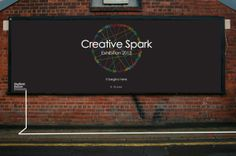 Creative Spark Exhibition by Brendon Barnett, via Behance