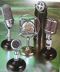 Vintage microphones 20's through the 40's.