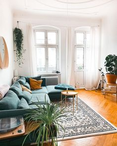 Home Interior Living Room .Home Interior Living Room Home Interior, Home Living Room, Interior Design Living Room, Living Room Designs, Design Bedroom, Living Room Ideas Old House, Carpet In Living Room, Bright Living Room Decor, Blue Couch Living Room