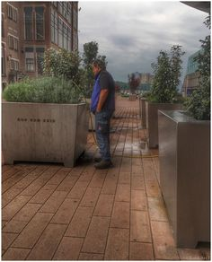 The watering man