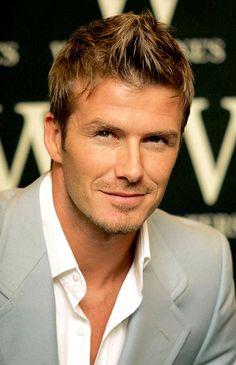 É este corte de cabelo do David Beckham... More
