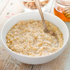 Overnight Steel Cut Oats - only 10 minutes needed in the morning. Add 1 c. oats to 3 c. boiling water, cover and let sit out overnight.  Next morning add 1 c. water or cider and simmer 4-6 min, remove from heat 5 min. and serve.
