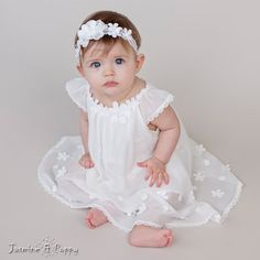 6cfb340f5 Baby girl christening dress